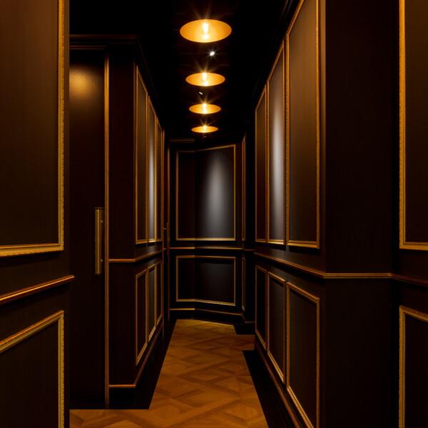 男性専用廊下